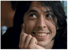 Ohh that face. Foo Fighters Dave Grohl, Foo Fighters Nirvana, There Goes My Hero, Nirvana Kurt Cobain, Chris Cornell, Aerosmith, To My Future Husband, Rolling Stones, Hard Rock