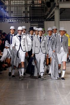 "Moncler Gamme Bleu, Vintage style 1920s Collection ""recycled"" fashion ideas - ""everything old is new again"""