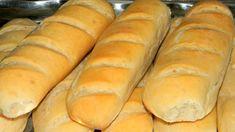 Bagett a legegyszerűbb kenyértésztából Bread Recipes, Cake Recipes, Bread Rolls, Baked Goods, Baking, Nap, Drink, Fimo, Bakken