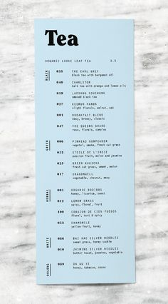 Till & Sprocket Menu by Will Gardner // menu design, typography, user experience, branding, graphic design Design Poster, Graphic Design Typography, Print Design, Branding Design, Stationery Design, Food Branding, Identity Branding, Visual Identity, Restaurant Branding