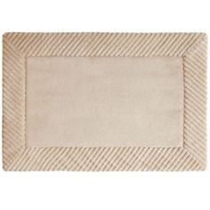 Style First® Ribbed Border Memory Foam Bath Rug Collection  found at @JCPenney
