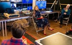 Queen Maxima visited the International Theater Amsterdam