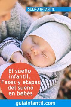 El sueño en los niños y en los bebés, como en los adultos, tiene diferentes fases y etapas, que van variando con la edad. El sueño del bebé está dividido en cuatro etapas que se van profundizando progresivamente. Te contamos cuáles son las fases y etapas del sueño infantil.