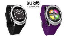 Burg dévoile une smartwatch qui est aussi un téléphone