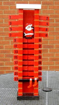 Santa-down-the-chimney Advent Calendar                                                                                                                                                                                 More