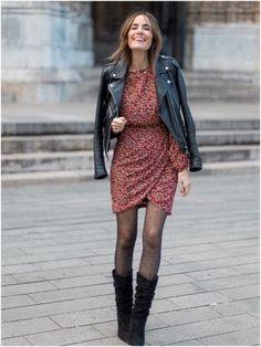 Este otoño uno de los complementos perfectos para tus outfits son las mallas negras. No dejes de usar vestidos o faldas. COLORES Muchas veces pensamos que las mallas negras solo van con colores oscuros, pero no. Arriésgate a utilizar otro tipo de colores que están en tendencia en otoño como el verde olivo, naranja, rojos, colores cálidos.
