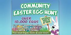 Yellow Creek Baptist Church to hold annual Community Easter Egg Hunt Saturday, April 15th