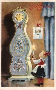 Scandinavian Christmas, Painting Techniques, Folk, Visual Arts, Dollhouse Miniatures, Sweden, January, Crafts, Craft Ideas