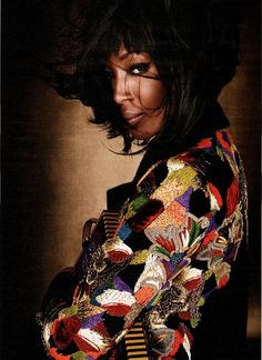 d636c4785bd1 Naomi Campbell for W Magazine July 2012 Ankara Wedding Styles