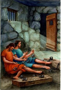Day Acts 16 - Paul's Macedonian Call and a Jailbreak The Bible reading plan comes from here . I am using the Matthew Henry Comm. New Testament Bible, Old And New Testament, Sermon Notes, Bible Notes, Paul The Apostle, Bible Pictures, Religious Pictures, Christian Artwork, Bible Illustrations