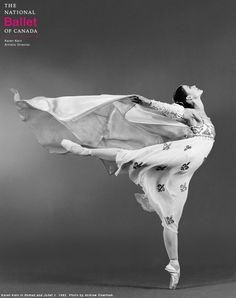 nationalballet:Throwback Thursday:Principal Dancer Karen Kain as Juliet Capulet in 1982. Romeo and Julietreturns to the stage in the 2015/16 season with choreography by celebrated Russian choreographer Alexei Ratmansky.Click here to watch the 2015/16 season announcement by Artistic Director Karen Kain.