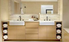 11 space saving tips for the small bathroom | http://www.godownsize.com/space-saving-tips-small-bathroom/