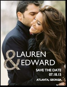 Wedding Paper Divas has some GREAT options!! This one is: Enchanted Embrace:Umber... LOVE THIS Save the Date!