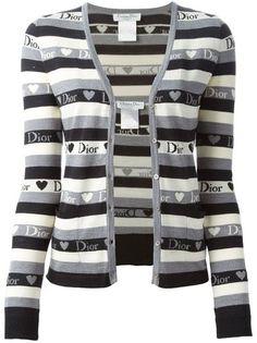 CHRISTIAN DIOR VINTAGE 'Heart Dior' twin set #christiandior #dior #designer #covetme