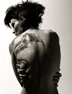 Lisbeth Salander, the American version - The Girl With The Dragon Tattoo