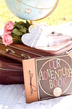 Disney Pixar's Up! themed engagement shoot by Kelly Marie Photography!