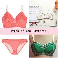 A look at the various different types of bra patterns and styles you can sew for yourself, and where to buy them.