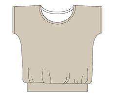 Free pattern: The Slouchy Shirt