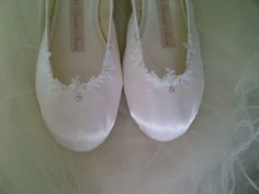 50984e1f1b6 Kahli Bridal ballet shoes