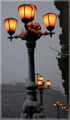 Brignole Station, Genova,province of Genoa, Liguria region Italy Lantern Post, Lantern Lamp, Candle Lanterns, Dark Weather, City Lights, Street Lights, Street Lamp, Le Corbusier, Cinque Terre