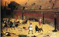 The Christian Martyrs' Last Prayer - Jean-Leon Gerome