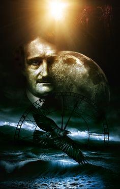 Sentí el sedeño y crujidor y elástico rozar de las cortinas, un fantástico terror, como jamás sentido había y quise aquel ruido explicando, mi espíritu oprimido calmar por fin: «Un viajero perdido es, dije y nada más ».  (((extracto de un poema de Edgar Allan Poe)))