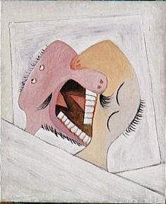 Pablo Picasso, Le Baiser, 1931, Musée Picasso Paris.