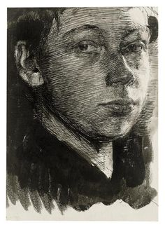 Kollwitz self portrait 1890 - - - More