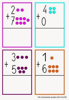 Educació Infantil Brimar: 11/16/13 Teaching Numbers, Numbers Preschool, Preschool Math, Kindergarten Math Worksheets, Preschool Activities, Addition Flashcards, Montessori Math, 1st Grade Math, Worksheets