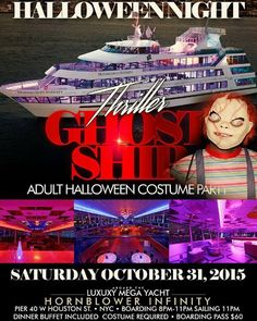 Ghost Ship @ Hornblower Infinity Saturday October 31, 2015 « Bomb Parties – Club Events and Parties – NYC Nightlife Promotions