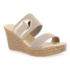 cc3e8f4e61e4 Tuscany by Easy Street Marisole Wedge Sandals
