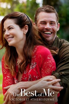 Aren't James Marsden and Michelle Monaghan adorable in this pic from The Best of Me?
