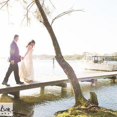 Noosa River Wedding.