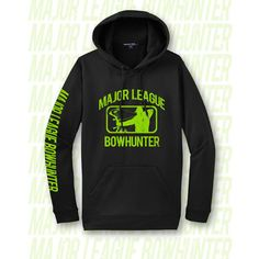 Black Performance Hoodie ONLY $45.00! http://www.majorleaguebowhunter.com/index.php?page=mods/Products/itemdetail&itemid=153