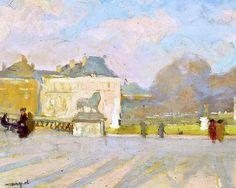 ALBERT MARQUET (1875-1947) Vue du Palais du Luxembourg