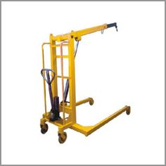 We are trusted manufacturer and supplier of the rotatory hydraulic floor crane. Having rich experience of manufacturing of the various kinds of the cranes for the heavy load, we have designed simple and efficient rotatory hydraulic floor crane with economic range.
