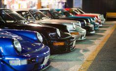 Desirable noses - RWB Porsche line up