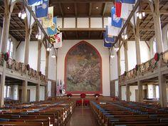 Chapel of Virginia Military Institute, Lexington, VA, Photo by My Lil' Rotten, via Flickr