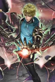 VK is the largest European social network with more than 100 million active users. Genos Wallpaper, Who Is A Hero, Animated Man, One Punch Man Manga, Green Lantern Corps, Anime Nerd, Hunter Anime, Fantasy Character Design, Anime Artwork