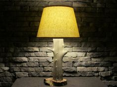 Driftwood lamp by WhiskeyBottomWdcrftr on Etsy