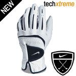 Nike Tech Xtreme II Cabretta Leather Glove Specially treated cabretta leatehr enhanced synthetic leather and lycra spandex for great fit grip and feel Strategically placed Lycra spandex in the backof the hand fingers and gusset provides a c http://www.comparestoreprices.co.uk/golf-gloves/nike-tech-xtreme-ii-cabretta-leather-glove.asp