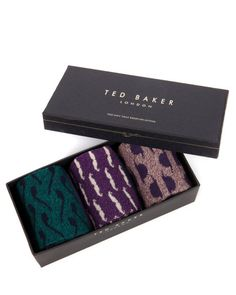 GENTS - Multiple sock set - Purple | Men's | Ted Baker UK