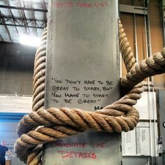 Yes!!! Great quote for new people who think they cannot do CrossFit