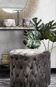 51cm Artificial Plant Fake Indoor Cal-Fir Lily Decor Botanical Tropical Trend