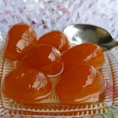 Κουμ κουάτ γλυκό του κουταλιού Sweets Recipes, Desserts, Spoon, Muffin, Fish, Fruit, Vegetables, Breakfast, Ideas