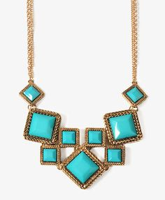 Braided Square Bib Necklace - Love it!