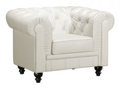 Aristocrat Arm Chair White