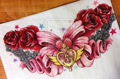 Sailor Moon Chestpiece for *brokenloony by 16Shokushu