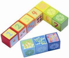 HABA Number Dice Building Blocks