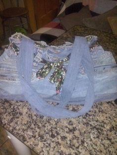 Minha bolsa de jeans